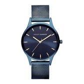 Violet Hamden New Gravity Dark Blue horloge  - Blauw