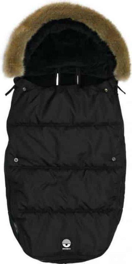 Product: Dooky Voetenzak - Large - Black Furry, van het merk Dooky