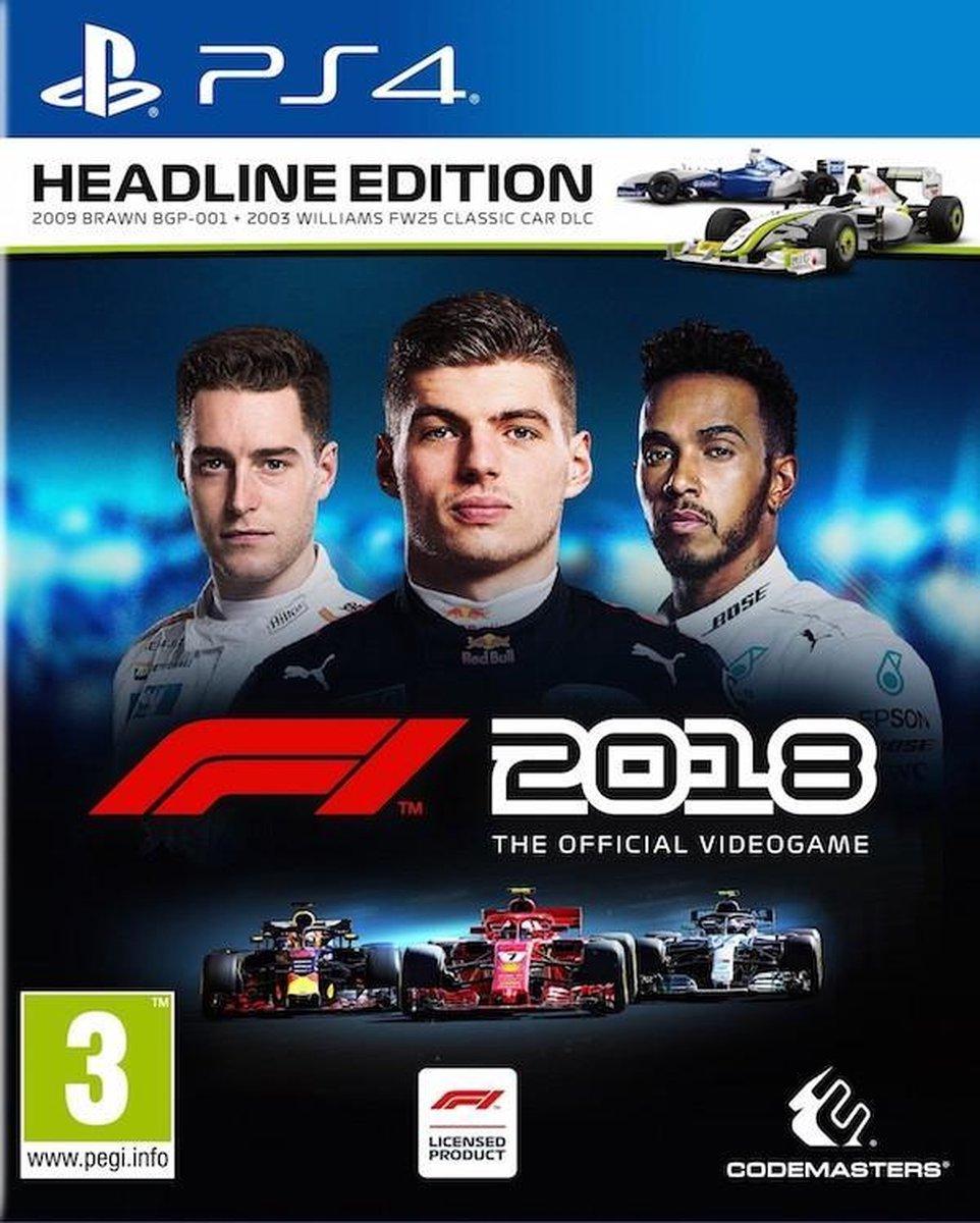 F1 2018 Headline Edition - PS4 - Merkloos