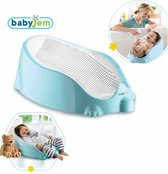 Babyjem Mint - Badkussen - Badzitje - Badring - Badstoeltje baby 0+ maanden - Sillicoon - Max 15kg - Babybadzitje