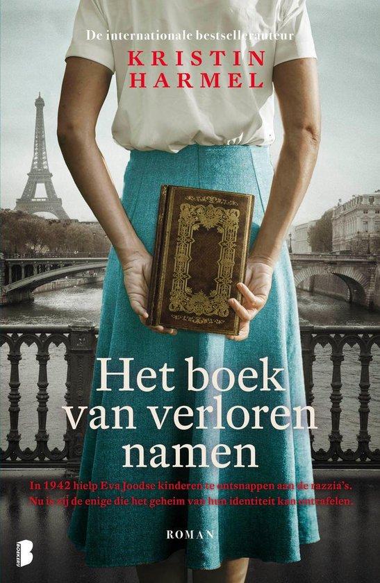Boek cover Het boek van verloren namen van Kristin Harmel (Onbekend)