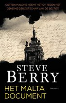 Boek cover Cotton Malone 14 -   Het Maltadocument van Steve Berry (Paperback)