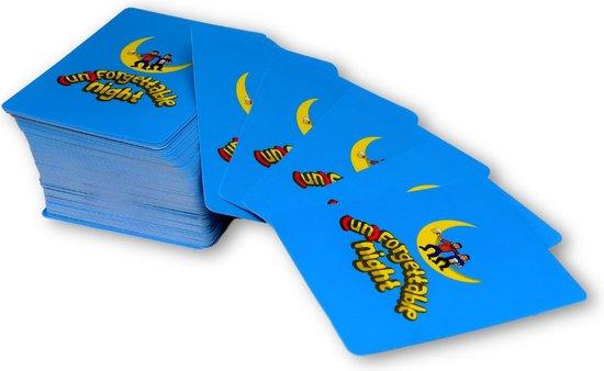 Thumbnail van een extra afbeelding van het spel (Un)Forgettable Night – Drankspel – Kaartspel – Drank Spelletjes – Kaarten – 18+