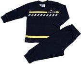 Fun2Wear - Pyjama Politie - Navy Blauw - Maat 104 - Jongens, Meisjes