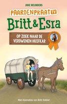 Paardenpraat tv Britt & Esra 9 - Op zoek naar de verdwenen huifkar