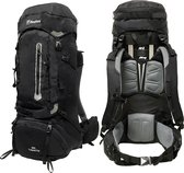 Beefree Backpack - Rugzak - 80 Liter - Inclusief regenhoes - Zwart