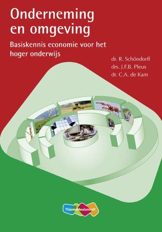 Boek cover Onderneming en omgeving van Tekst/Support (Paperback)
