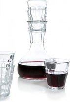 Royal VKB - Decanteer karaf + 4 glazen
