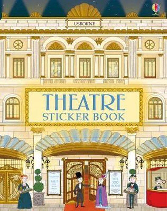 Boek cover Dolls House Sticker Book Theatre van Abigail Wheatley (Paperback)
