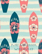 Surf Notebook Wide Ruled