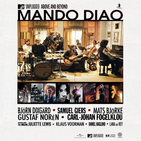 Mando Diao - MTV Unplugged: Above & Beyond