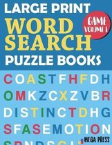 Large Print Word Search Puzzle Books