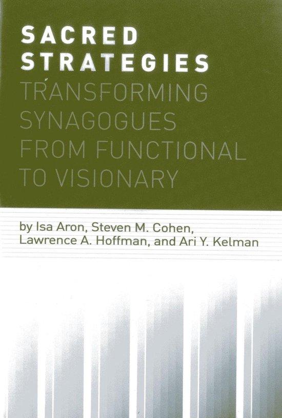 Boek cover Sacred Strategies van Isa Aron (Onbekend)