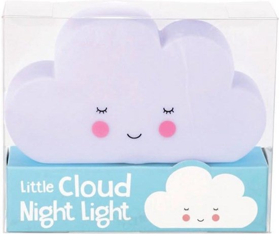 LED Nachtlampje Wolk - Rex London - kawaii