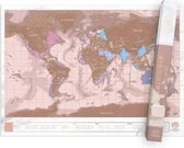 Luckies - Luckies Scratch Map Rose Gold Edition