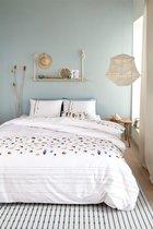 Marjolein Bastin Shellfish - Dekbedovertrek - Eenpersoons - 140x200/220 cm - White