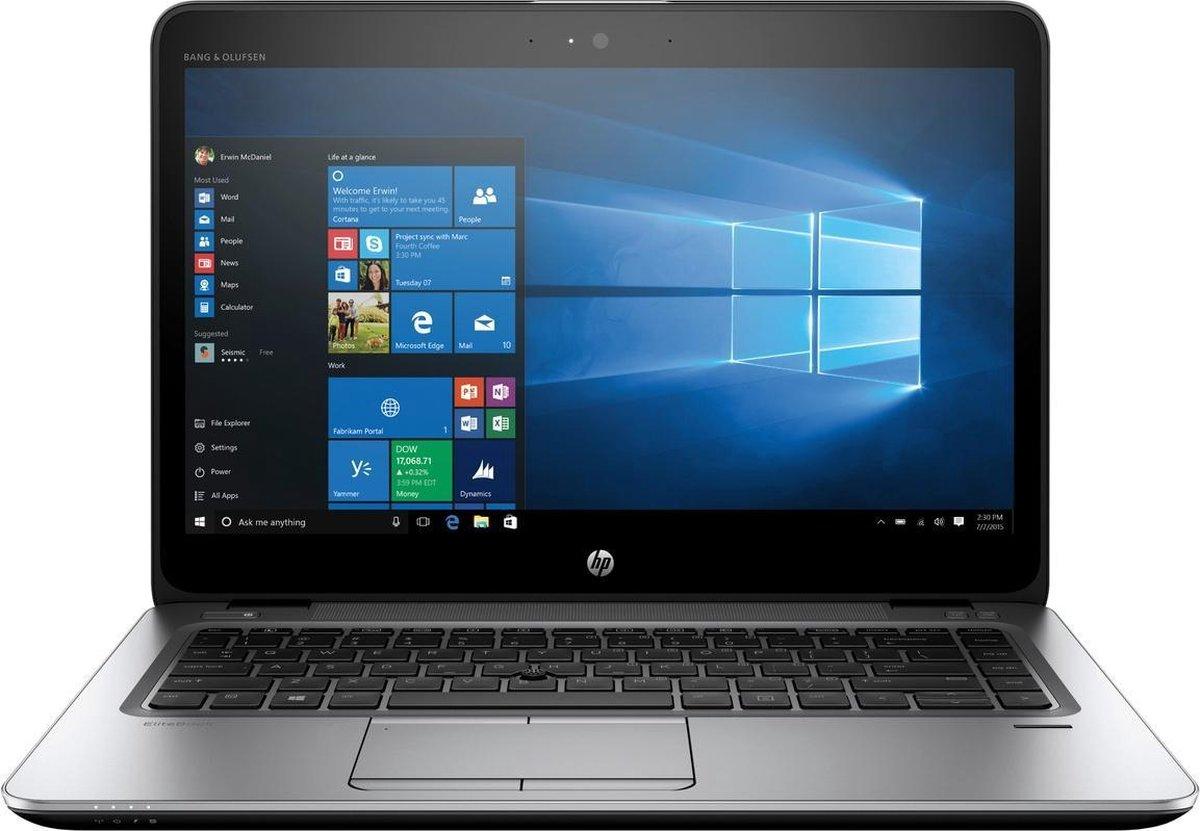 "HP Elitebook 840 G3 14"" FullHD laptop refurbished door PCkoophulp, i5-6300U 2.4GHz, 16GB, 256GB SSD, Windows 10 Pro"