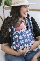 Tula Baby Draagzak Free to Grow Flies & Butterflies - ergonomische draagzak vanaf geboorte