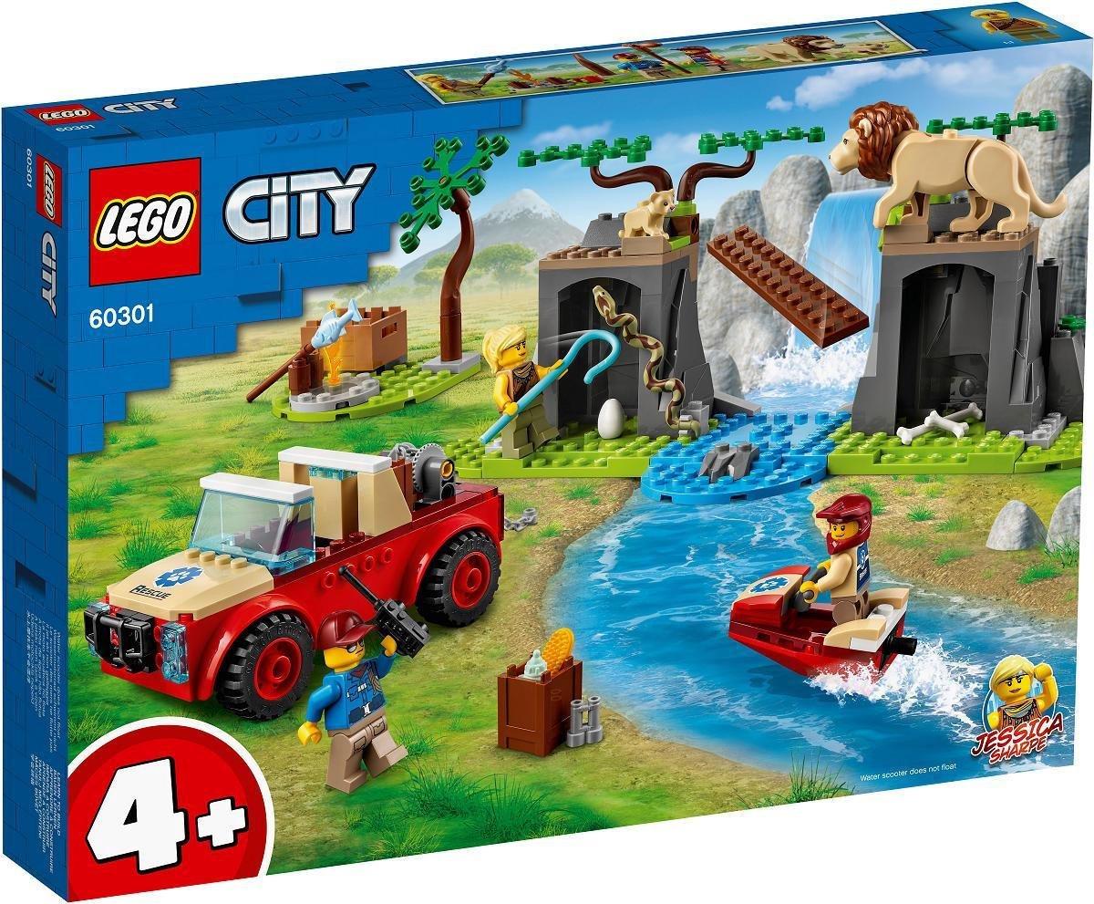 LEGO City 4+ Wildlife Rescue Off-roader - 60301