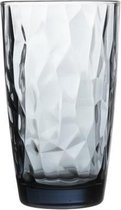 Bormioli Rocco Diamond Longdrinkglas - 47 cl - Blauw - 6 stuks