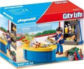 PLAYMOBIL City Life Schoolconciërge met kiosk - 9457
