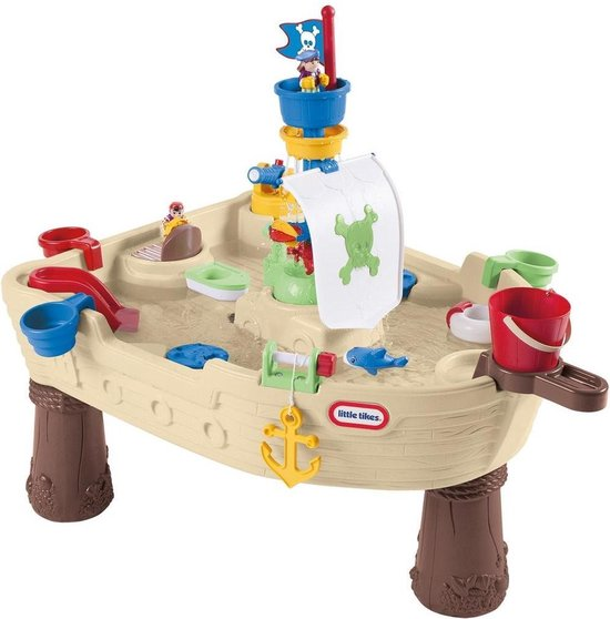 Buitenspeelgoed | Zandbakken - Lt Watertafel Piratenboot