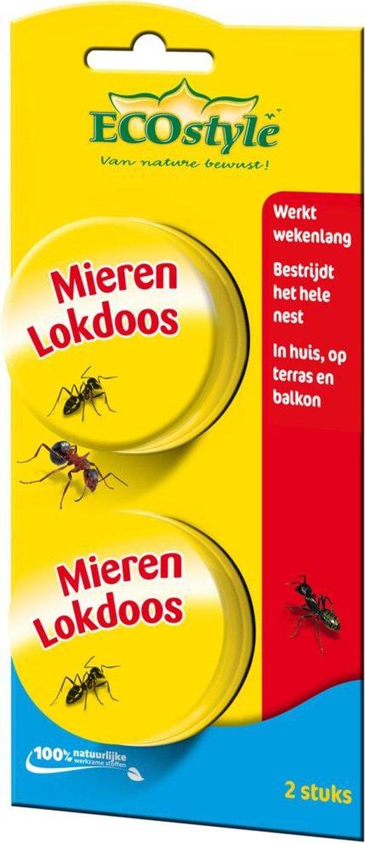 ECOstyle MierenLokdoos - tegen mieren - 2 stuks