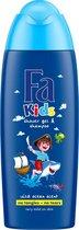 Fa Kids Douche & Shampoo Pirate 6x 250ml - Voordeelverpakking
