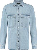 Raizzed Overhemd Storm Mannen Overhemd - Vintage Blue - Maat XL