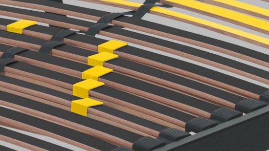 Beter Bed Bossflex 400 Lattenbodem - Vlak - Comfortzones - 90x200 cm - Beter Bed Select