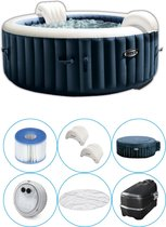 Intex - PureSpa - Jacuzzi - 216 x 71 cm - Donkerblauw - 6 Persoons