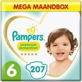 Pampers Premium Protection - Maat 6 - Mega Maandbox - 207 luiers