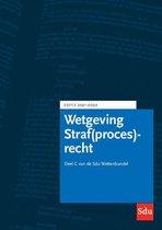 Educatieve wettenverzameling  -   Sdu Wettenbundel Straf(proces)recht. Editie 2021-2022