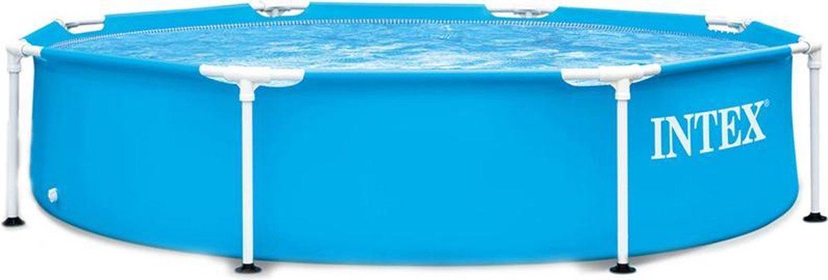 Intex zwembad - zwembad rond - metalen frame - Ø244cm
