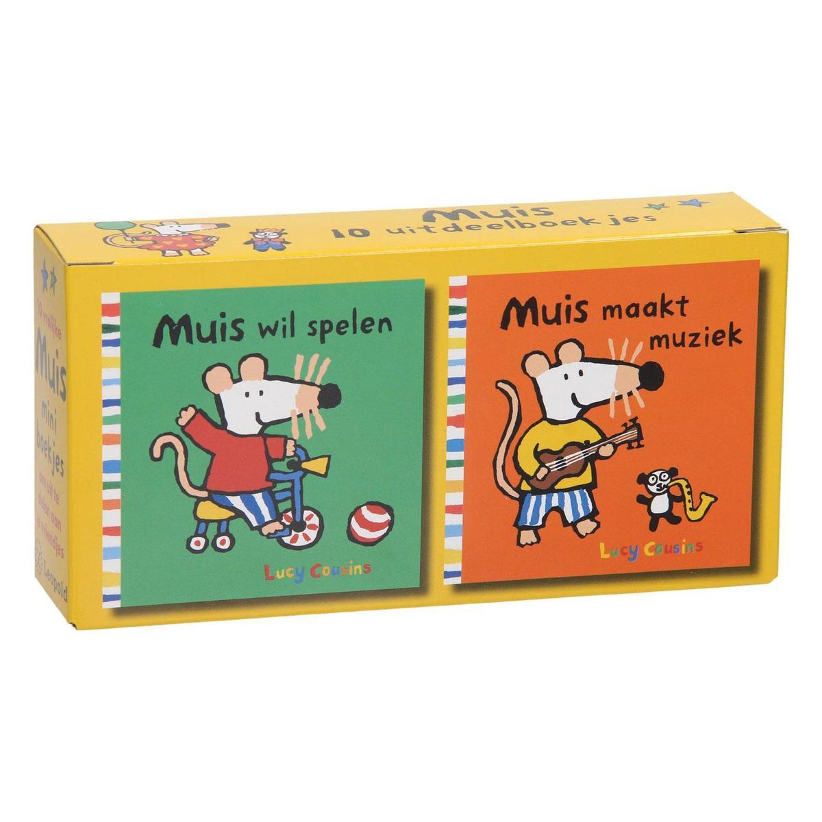 Muis  -   Muis uitdeelboekjes