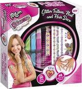 Totum - Glamz Glitter Nagels, Tattoos & Haar beauty & mode set