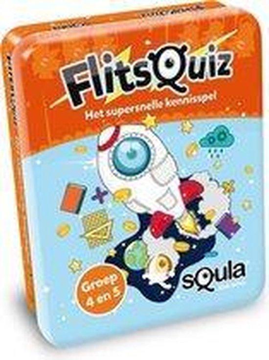 Afbeelding van het spel Squla flitsquiz groep 4 5 - Kaartspel
