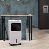 DUTCH ORIGINALS   Mobiele airconditioning   65W Ventilator   Energiebesparende 15 L 3-traps luchtkoeler   Luchtgekoelde koelmachine met afstandsbediening   Oscillerende modus