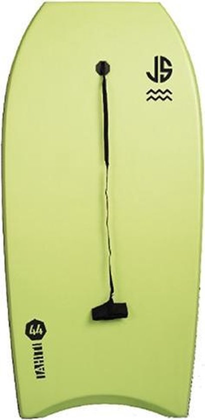 JS Bodyboard - lime groen - wit - zwart