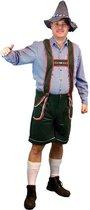 Oktoberfest - Voordelige groene lederhose voor heren - Oktoberfest kleding 50 (M)
