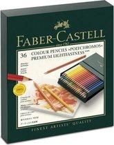 Faber-Castell Polychromos kleurpotlood - 36st. - studiobox - FC-110038