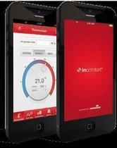 Intergas Touch Zwart + Gateway