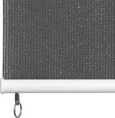 vidaXL Rolgordijn voor buiten 100x230 cm antraciet