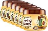 Garnier Loving Blends Avocado Karité - 6 x 300 ml - Haarmasker - Voordeelverpakking