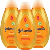 Johnson's Baby Shampoo Newpack 3 x 500ml- Voordeelverpakking