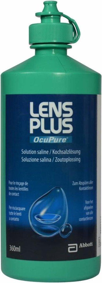 Lens Plus™ OcuPure™ Saline   1x 360ml
