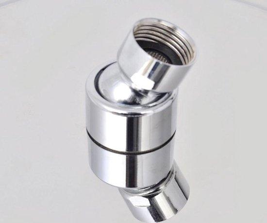 vidaXL Regendouchekop roestvrij staal 20x20 cm vierkant - vidaXL