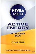 NIVEA MEN Active Energy 2-in-1 Aftershave Balsem - 100 ml