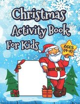 Christmas Activity Books For Kids Ages 4-8