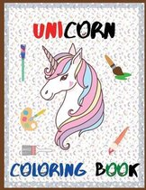 Unicorn Coloring Book - Excellent Coloring Books for Kids Ages 3-6. Perfect Unicorn Gift